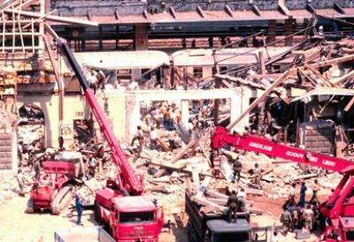 I terroristi dinamitardi rossi Thomas Kram e Christa-Margot Fröhlich a Bologna, il 2 agosto del 1980