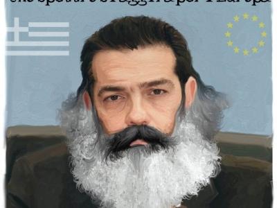 Sulla Grecia il grillino tsipriota diletto cotanto trae nel frinir, che l'acufene membra e sensora mie face or ora ancor più intirizzir